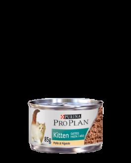 Latita Pro Plan Kitten Pollo & Hígado