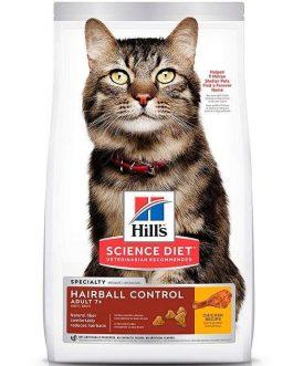 Hills Feline Adult Hairball Control 7+