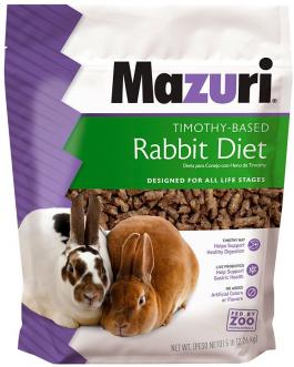 Mazuri Timothy-Based Rabbit Diet