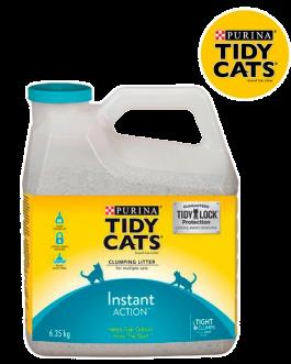 Tidy Cats Arena Sanitaria para Gatos Instant Action Bidón