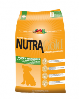 NUTRAGOLD HOLISTIC PUPPY MICROBITES