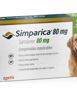 SIMPARICA 80 MG 20-40 KG 3 COMPRIMIDOS