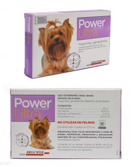 Antiparasitario Pipeta POWER ULTRA 2 kg a 4 kg