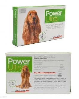Antiparasitario Pipeta POWER ULTRA 11 kg a 20 kg