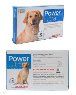 Antiparasitario Pipeta POWER ULTRA 21 kg a 40 kg