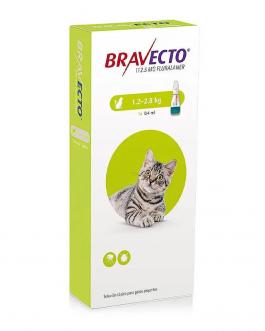 Bravecto Antiparasitario Externo para Gatos – 1.2 Kg a 2.8 Kg