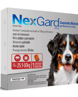 Nexgard 1 comprimido 25,1 a 50 kg