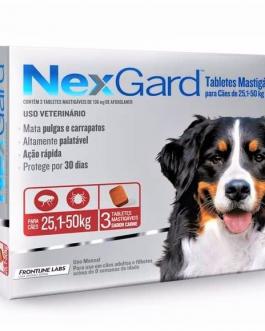 Nexgard 3 comprimidos 25,1 a 50 kg