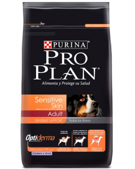 Purina Pro Plan Adult Sensitive Skin Cordero con OptiDerma 3kg